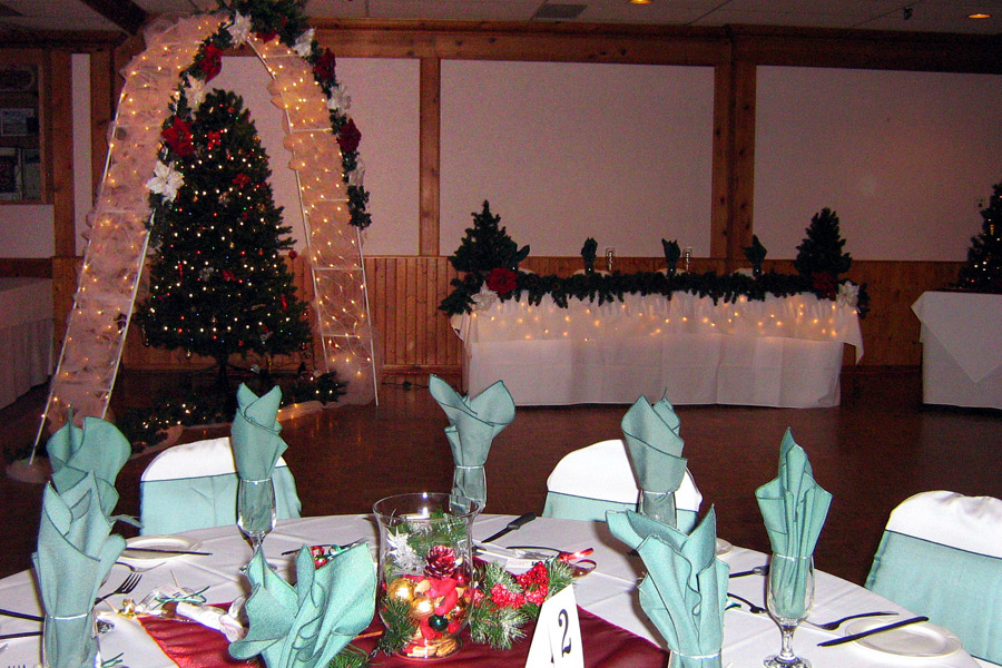 Alpine Room, Christmas