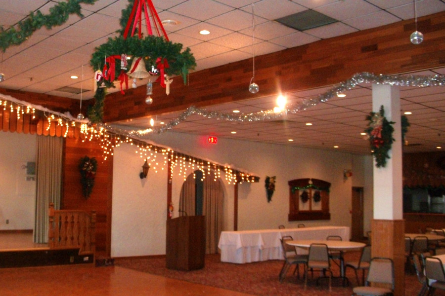 Main Hall, Christmas